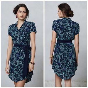 Maeve Franziska Bunny Print Dress Size 4
